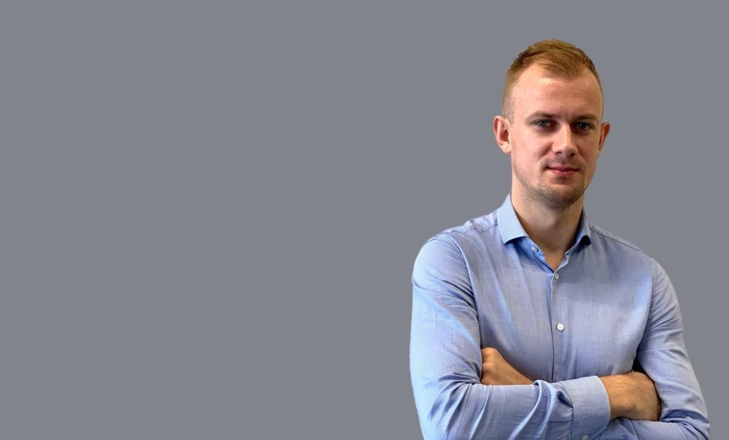 Pracownik formy Luxon LED - Jakub Kuberka, manager sprzedaży