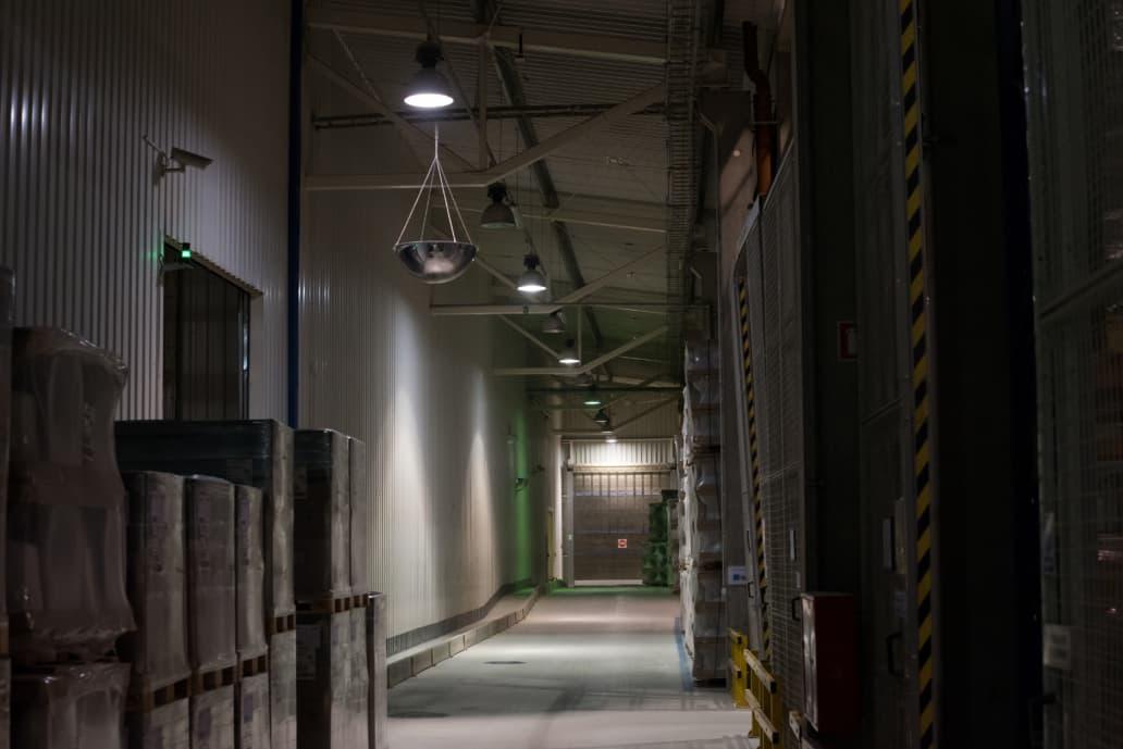 Zmodernizowany oddział firmy Geberit - Luxon LED