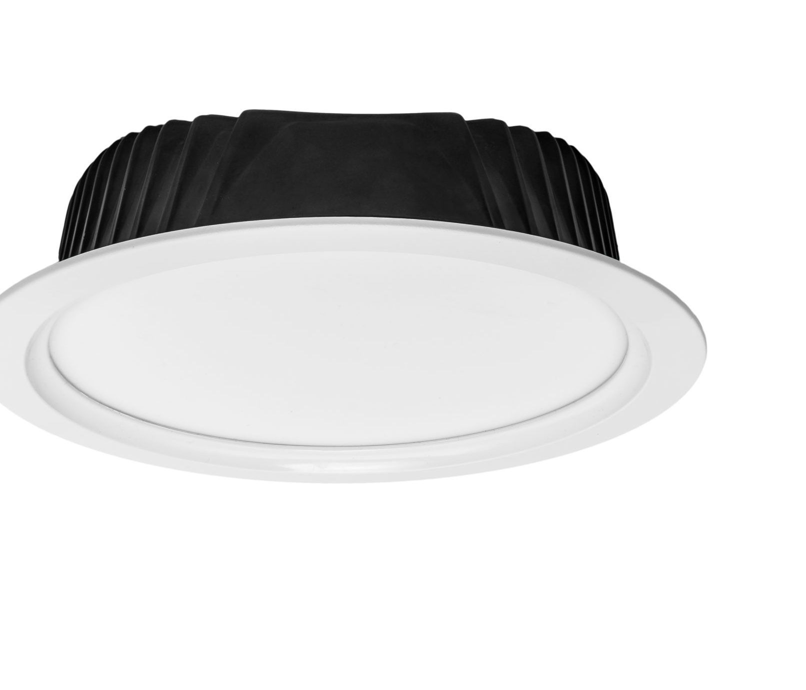 Downlight with milk diffuser