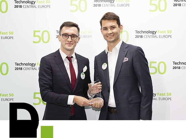 Krzysztof Ostrowski i Maciej Szott z nagrodą Deloitte