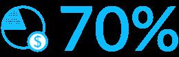 Znaczek oszczędności 70% - Luxon LED