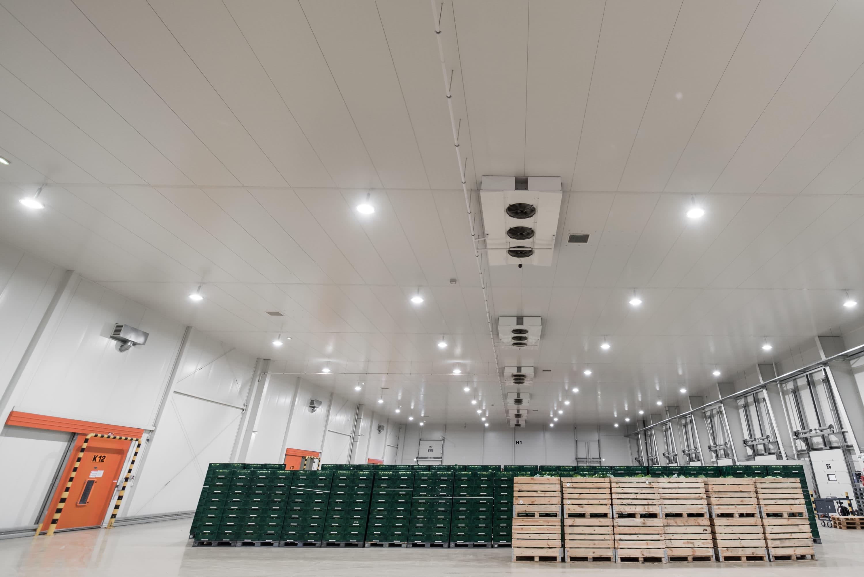 Modernizacja oswietlenia branza FMCG