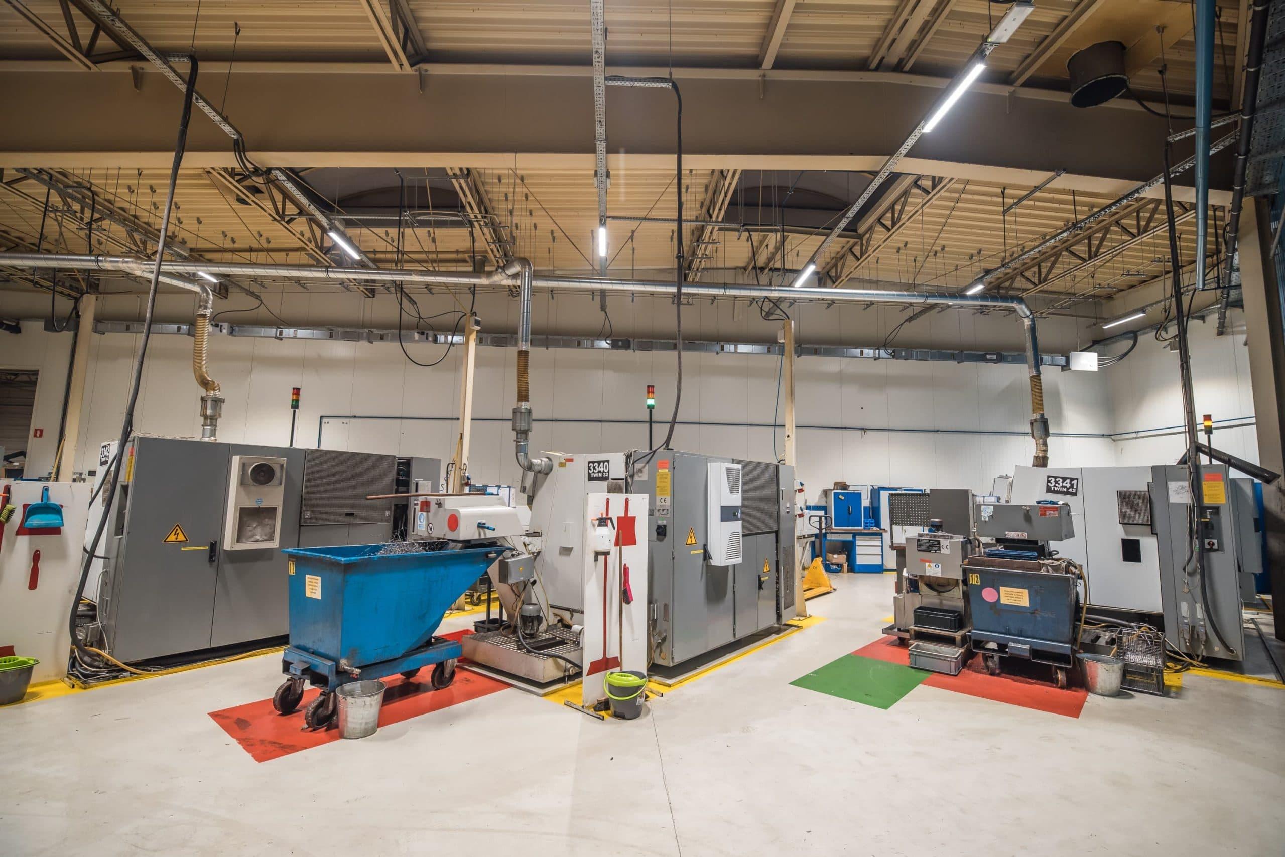 Oprawy przemysłowe Industrial w zakładzie Produkcyjnym firmy Broen - Luxon LED