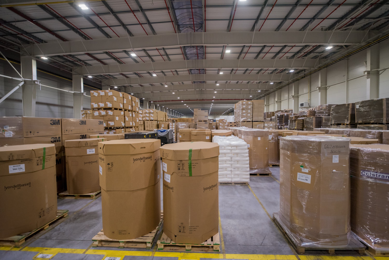 modernizacja oświetlenia w firmie Industrias Alegre