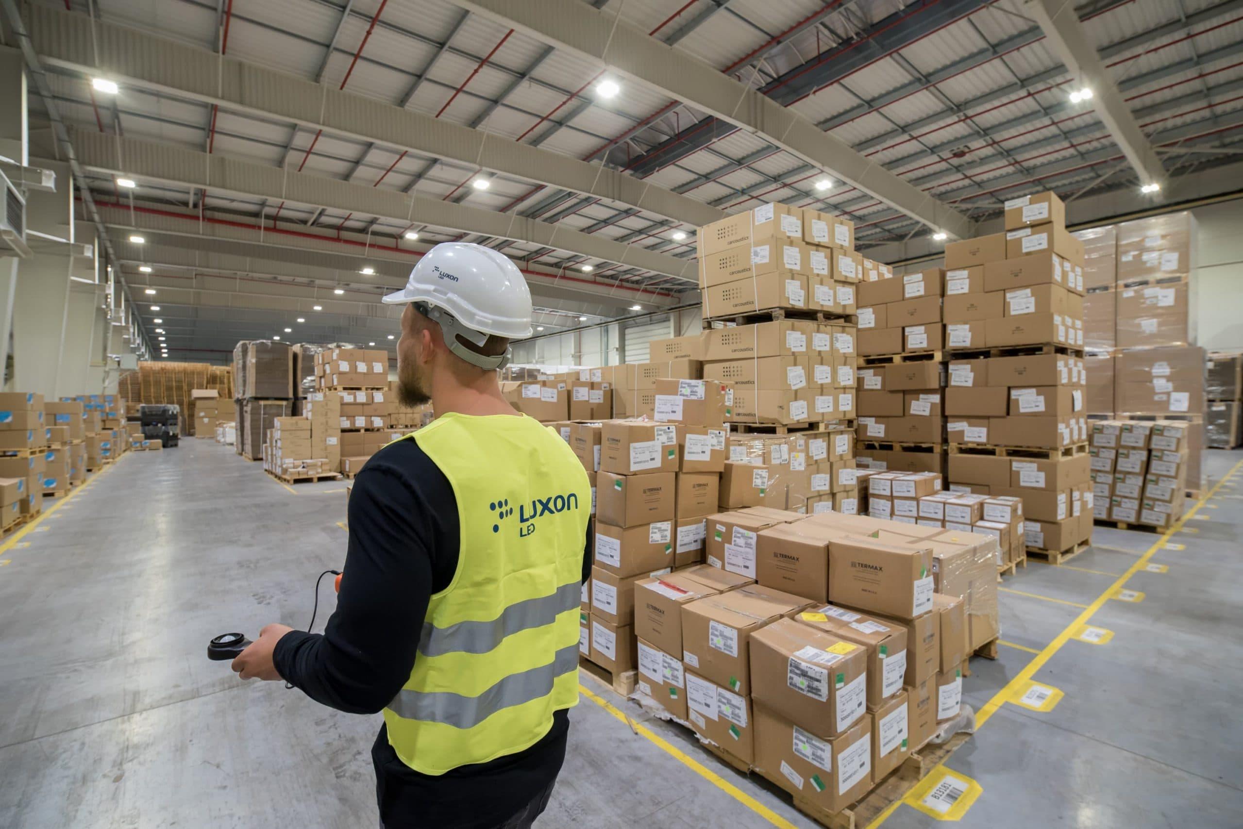 modernizacja oświetlenia w firmie Industrias Alegre - Luxon LED