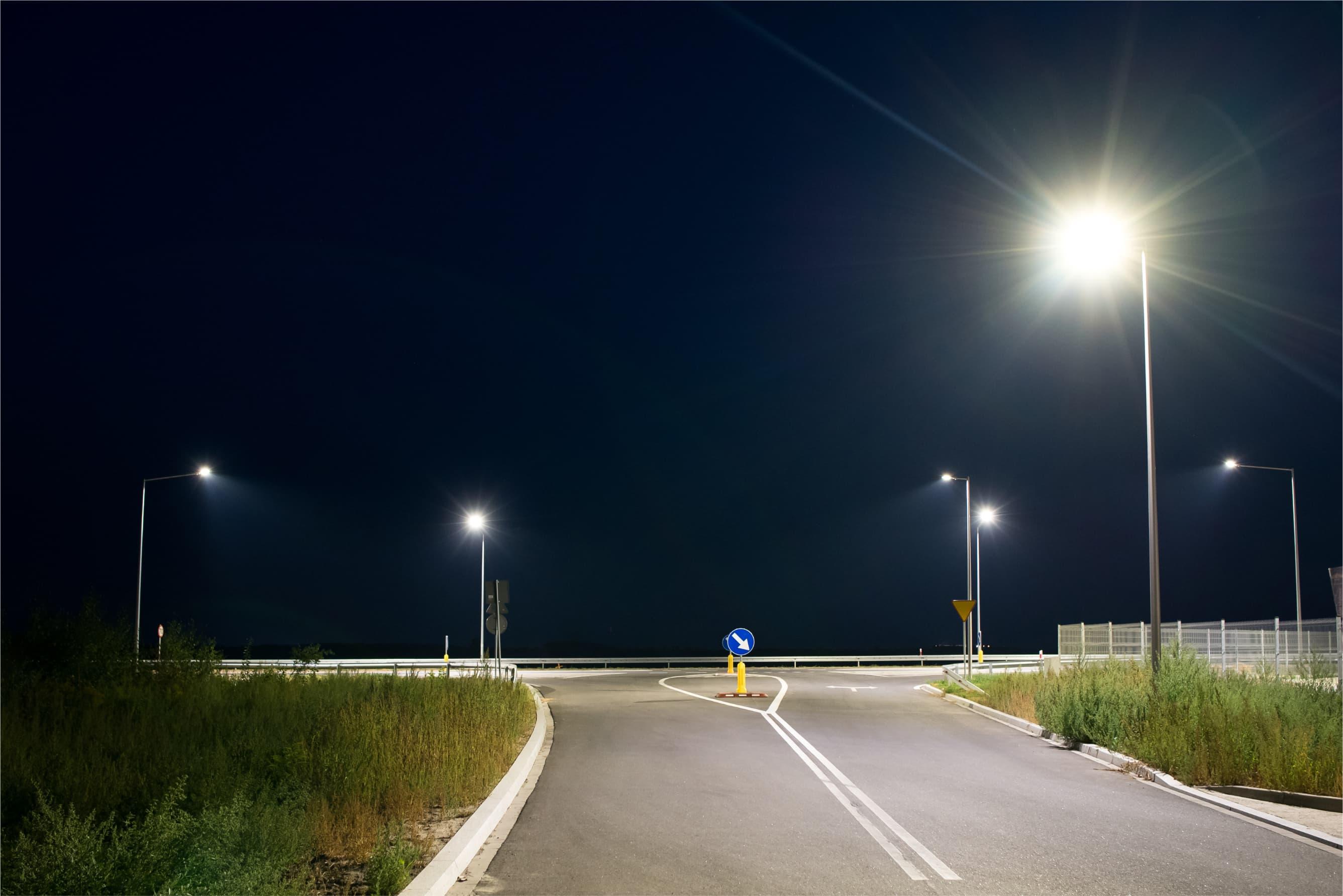 Oświetlenie Droga Krajowa nr 94