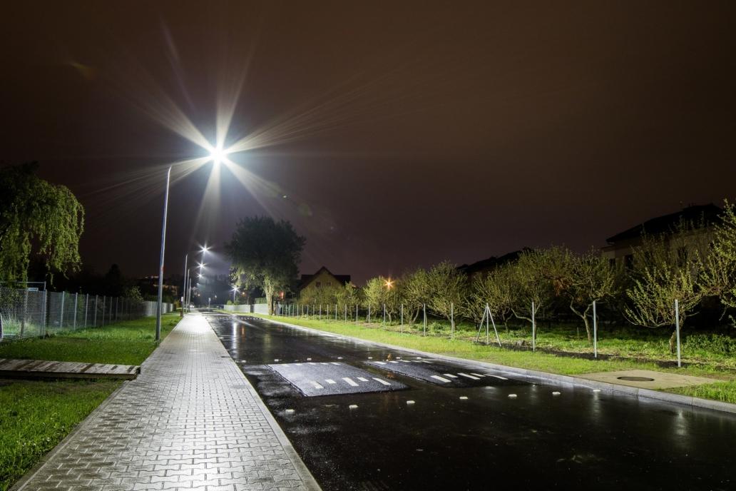 oświetlenie uliczne LED na ul. Buraczanej