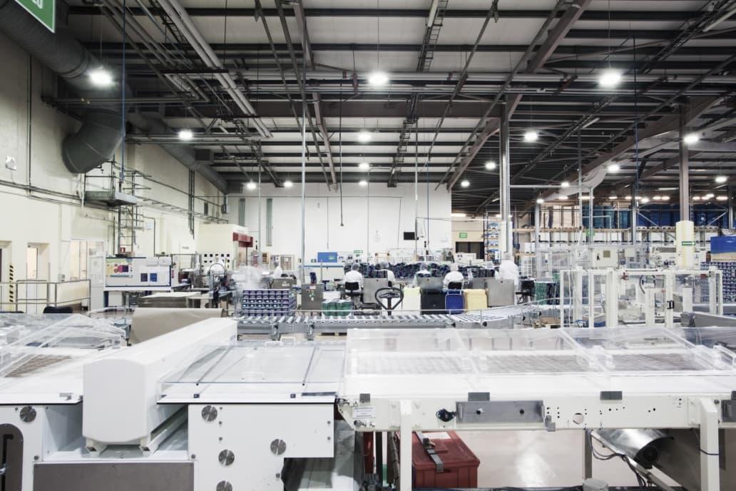 Oprawy przemysłowe Highbay w branży spożywczej - Luxon LED