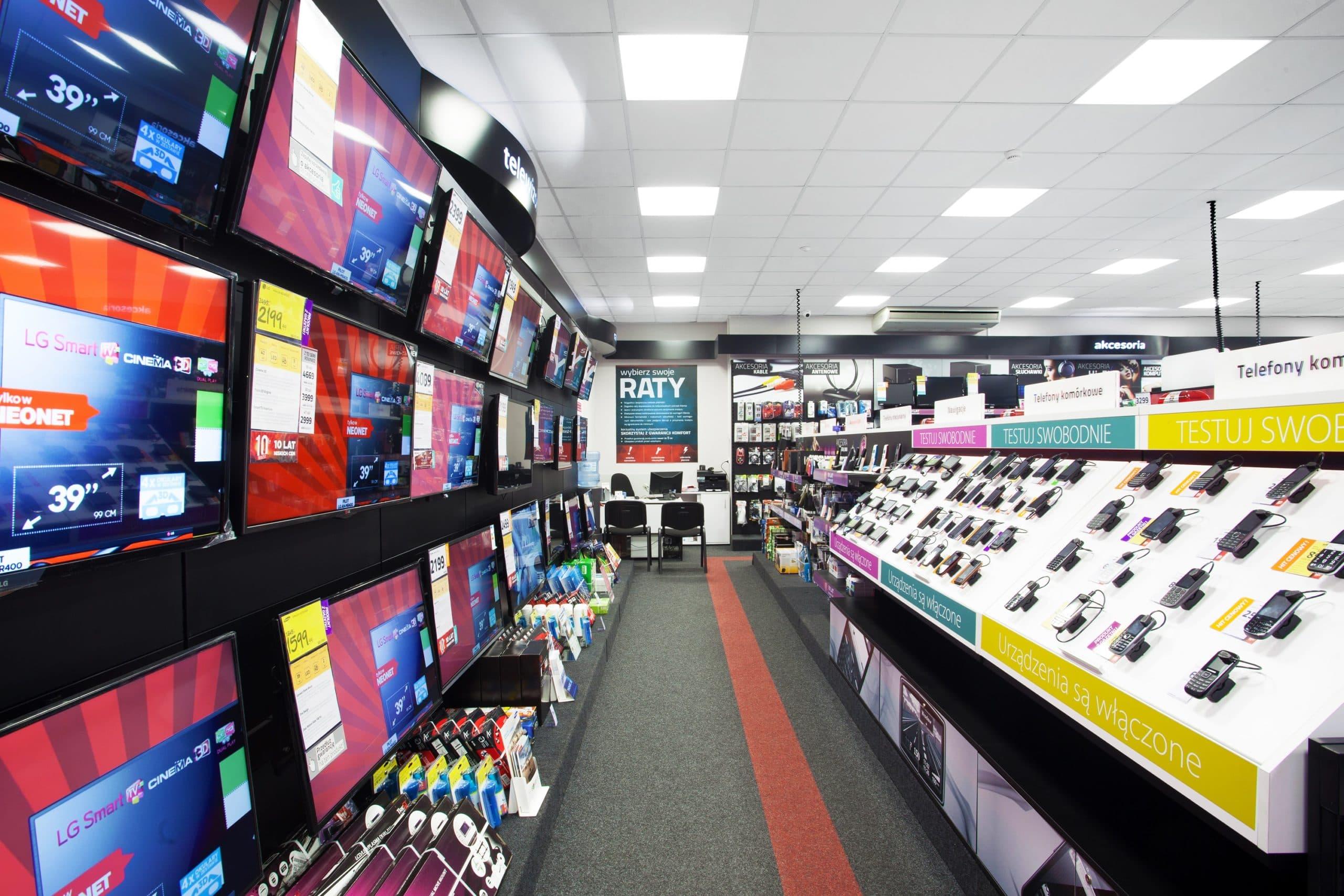 Oprawa biurowa Edge w sklepie Neonet - oświetlenie handlowe - Luxon LED