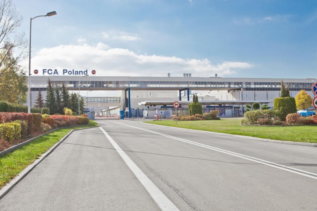 modernizacja fabryki firmy Fiat