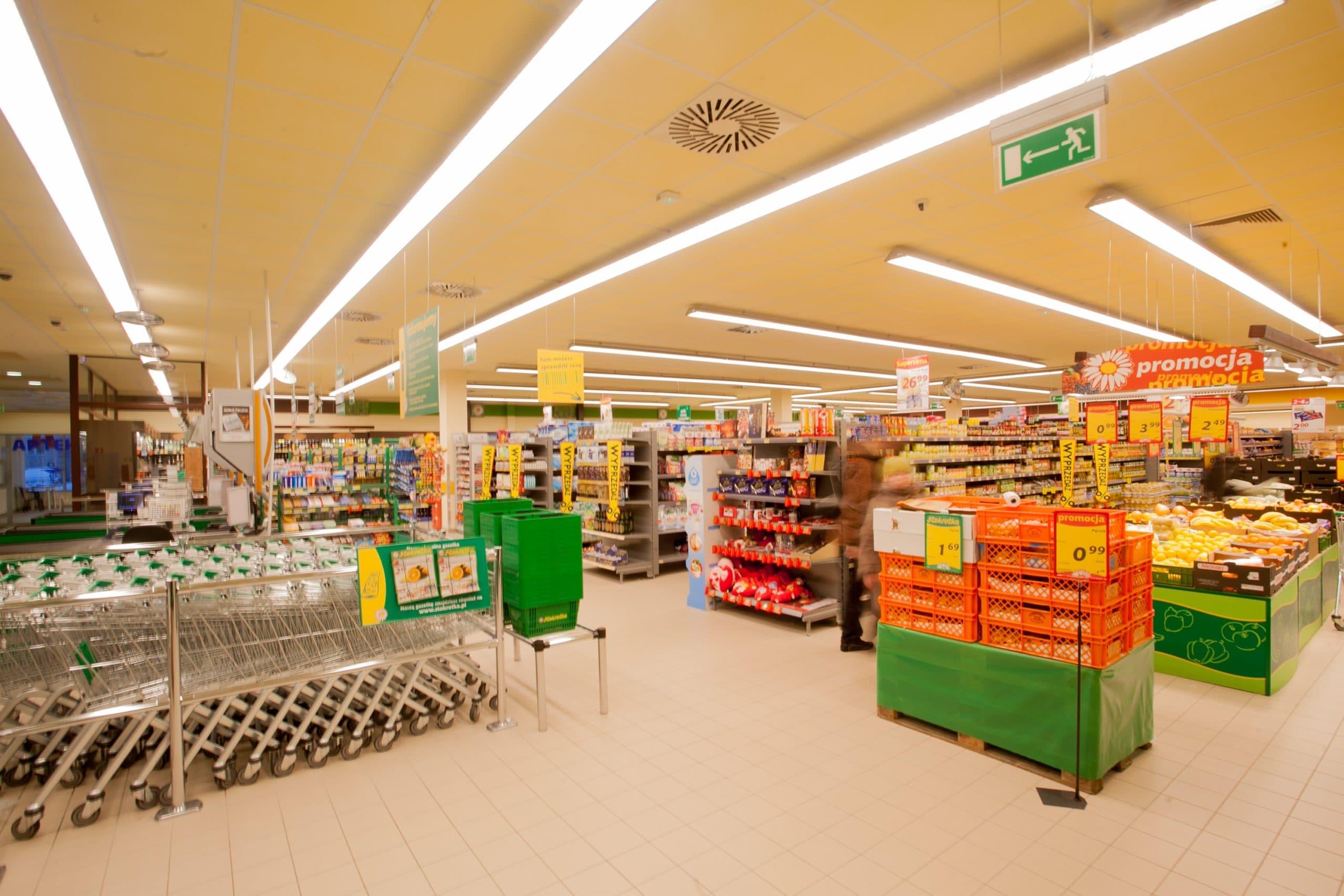 Oprawy liniowe, handlowe Lumiline w sklepie Stokrotka - Luxon LED