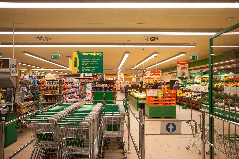 modernizacja sklepu Stokrotka