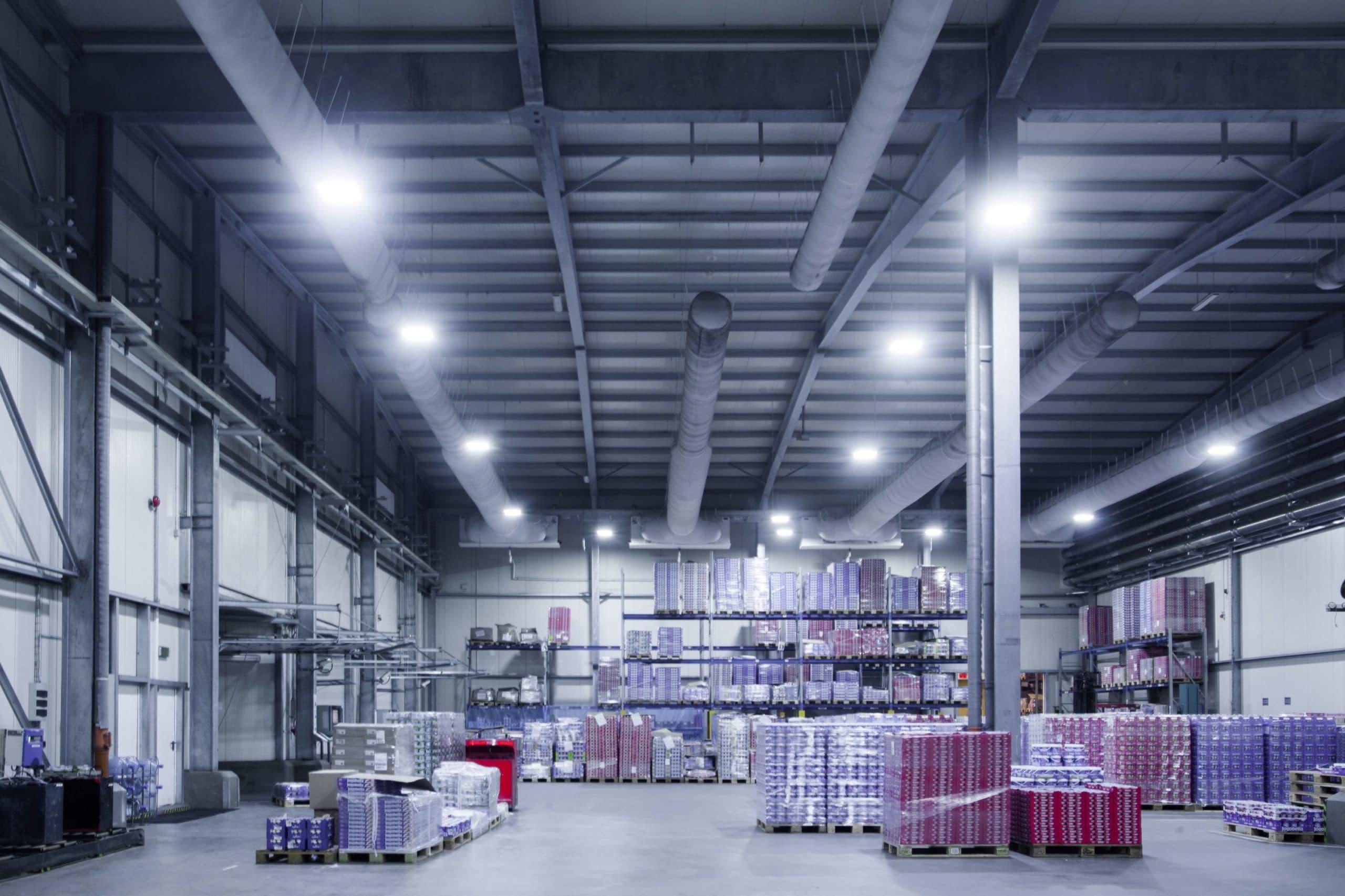 Modernizacja oświetlenia w mleczarni