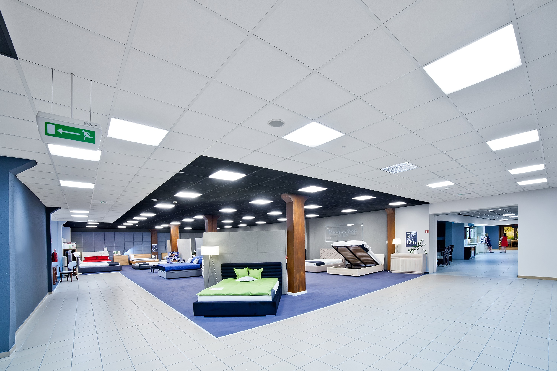 Galeria Wnętrz Domar po modernizacji oświetlenia