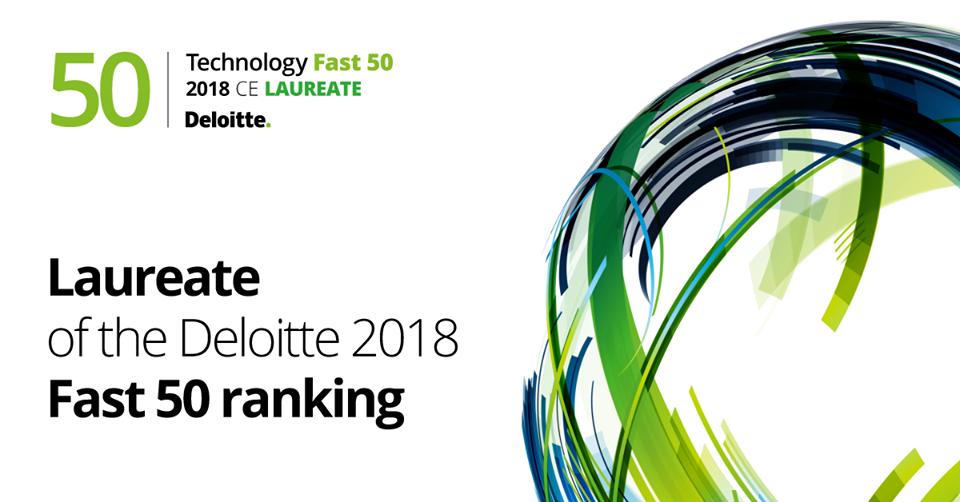Luxon LED laureatem rankingu Daloitte Fast 50 - grafika