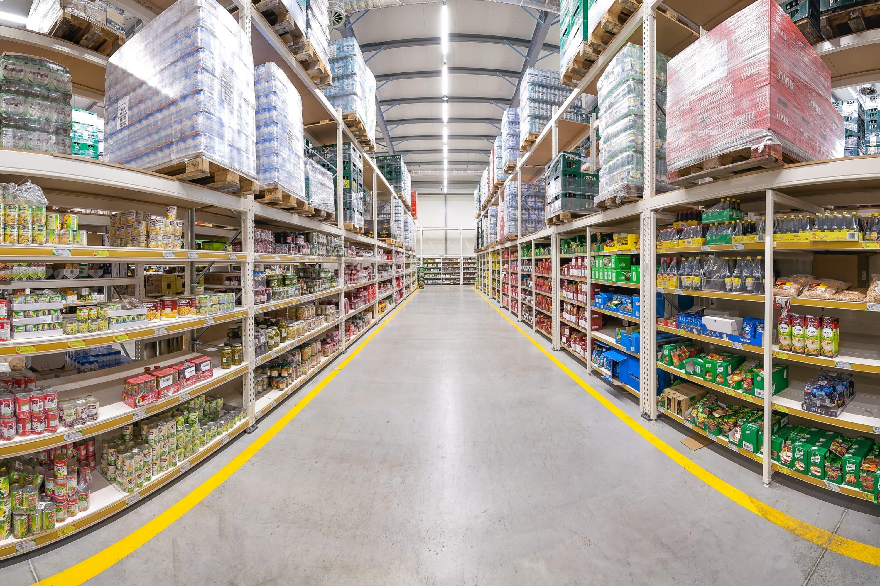 oprawy Industrial w markecie Eurocash