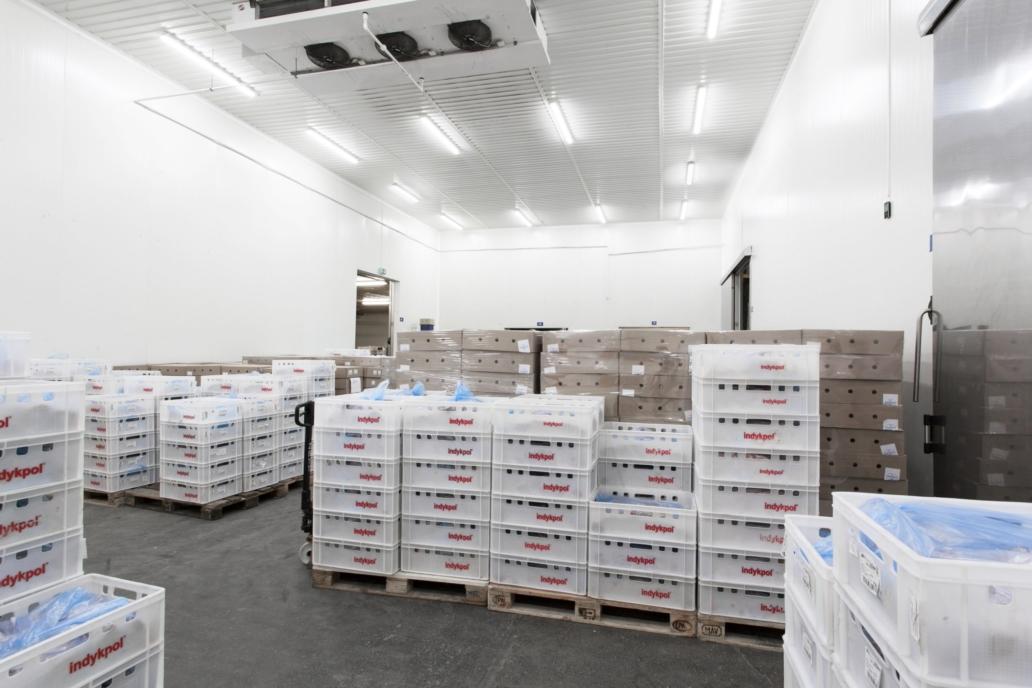 Oprawy hermetyczne Industrial LED w magazynach firmy Indykpol - Luxon