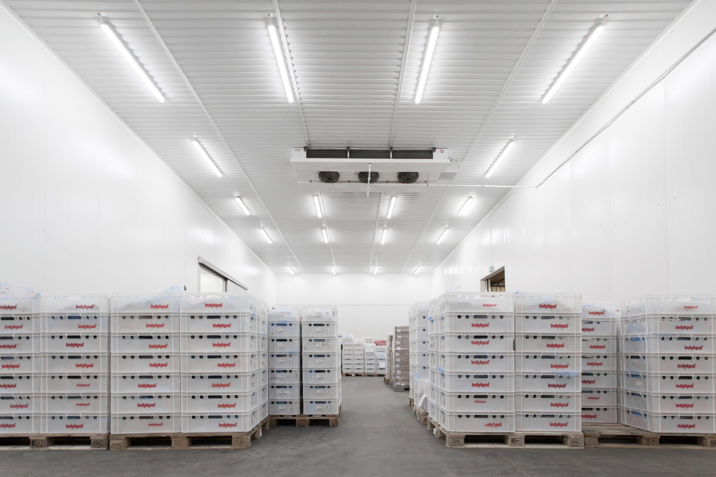 Oprawy Industrial w magazynach firmy Indykpol - Luxon LED