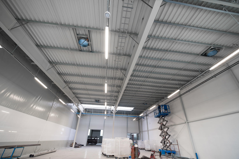 oświetlenie LED w firmie Legs