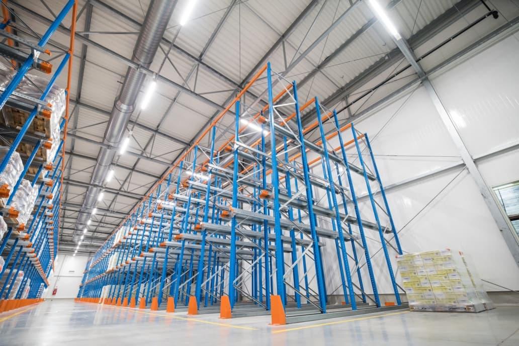 Oprawy Industrial w Spółdzielni Mleczarskiej w Gostyniu - Luxon LED