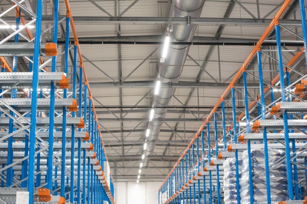 Spółdzielnia Mleczarska w Gostyniu po modernizacji oświetlenia na oprawy Industrial - Luxon LED