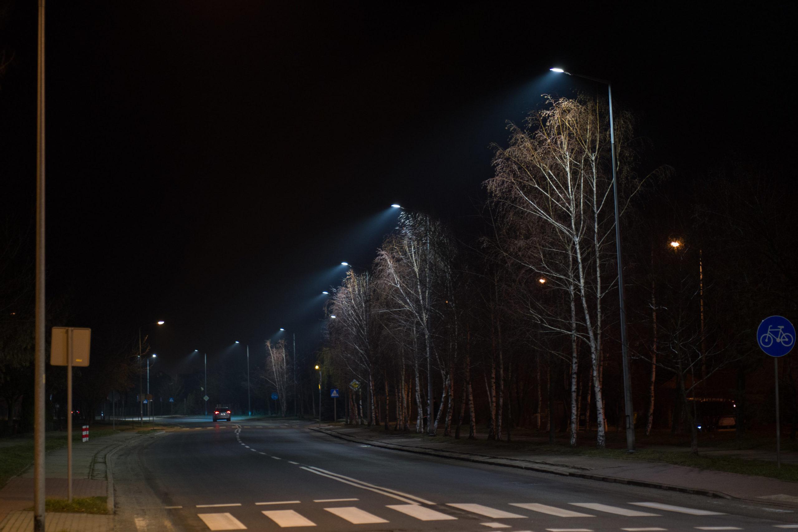Modernisierung der LED Straßenbeleuchtung in Legnica