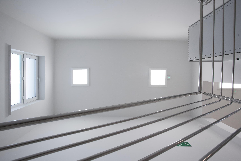korytarz przychodni w Sztumie