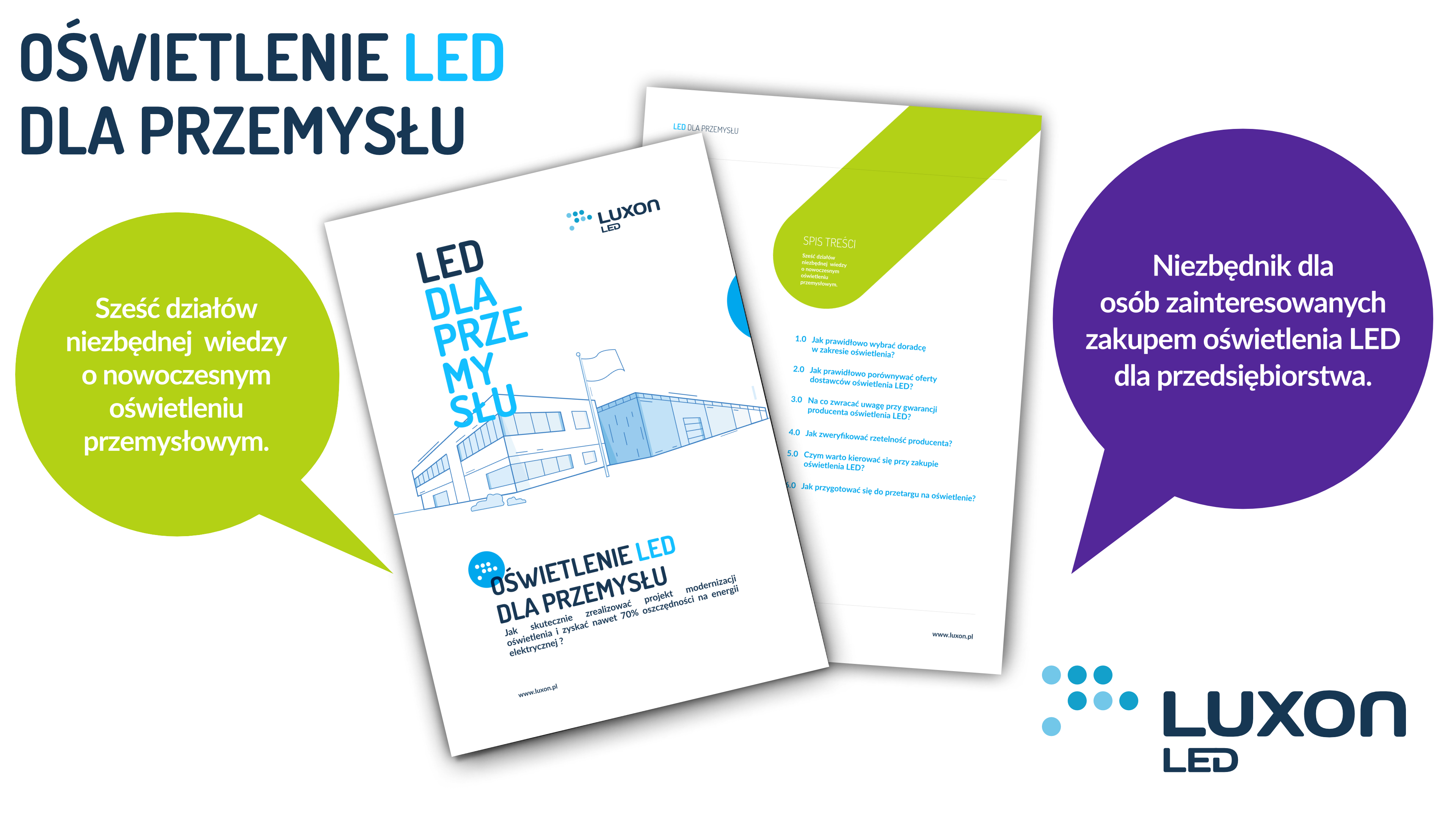 Ebook - Oświetlenie LED dla przemysłu? - Luxon LED