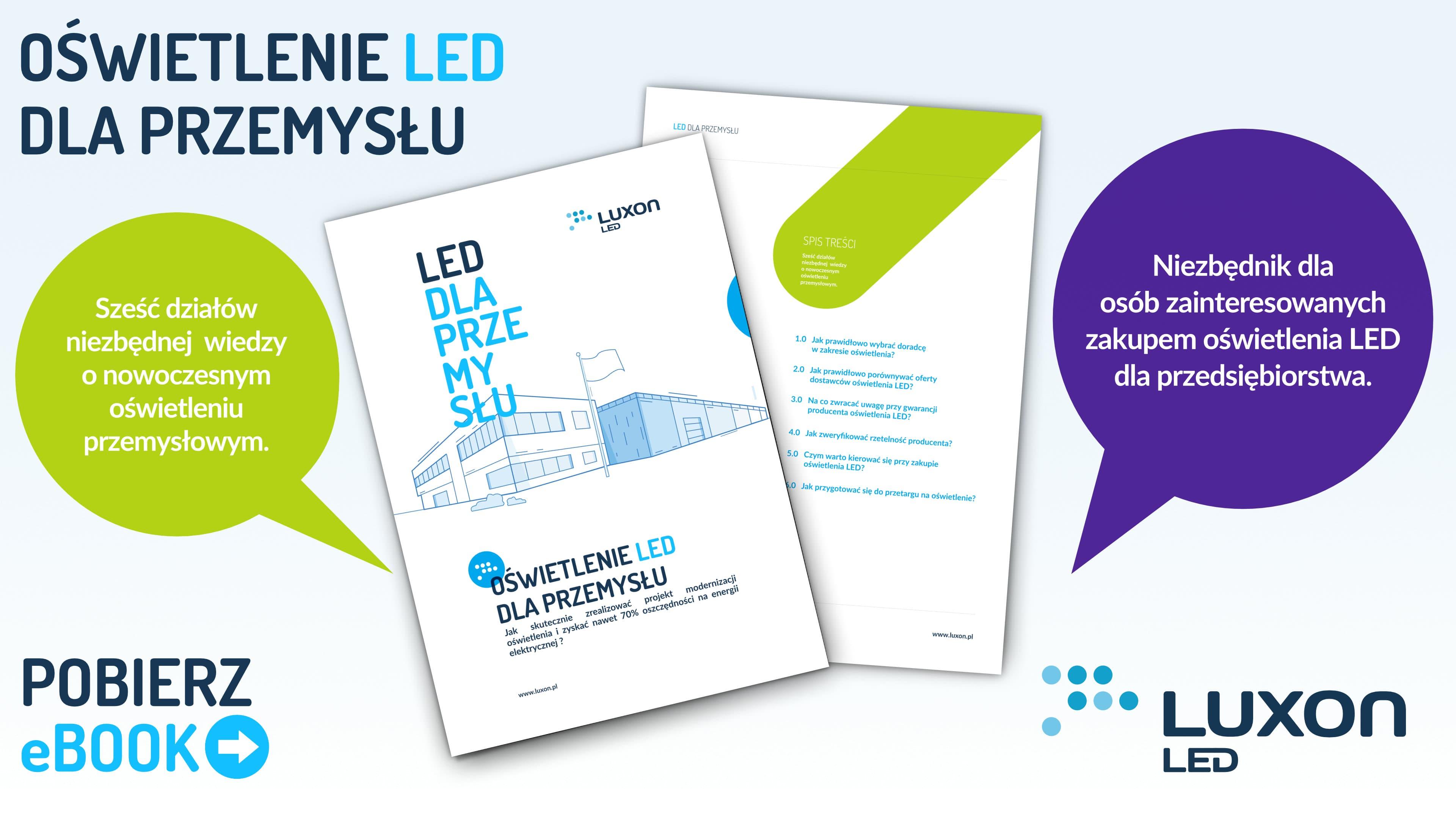 Ebook Oświetlenie Led Dla Przemysłu Luxon Led