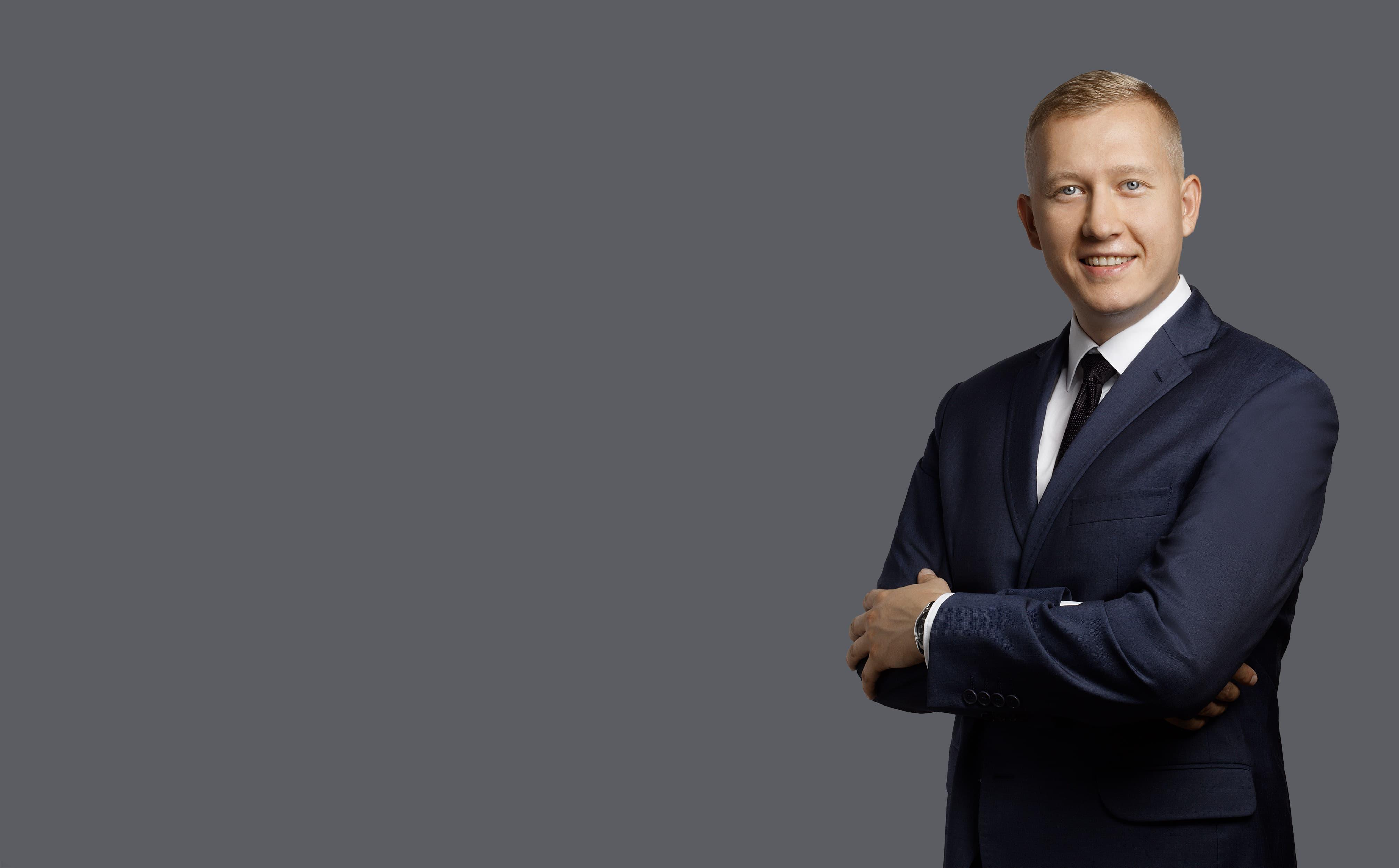 Michał Wyborski - dyrektor sprzedaży w Luxon LED