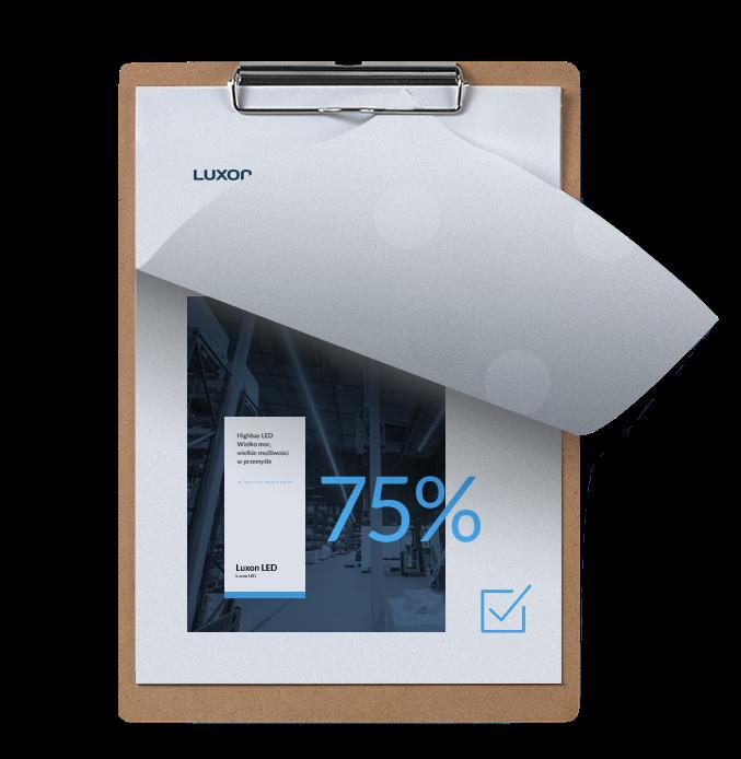 Ikona bezpłatny audyt oświetlenia - Luxon LED