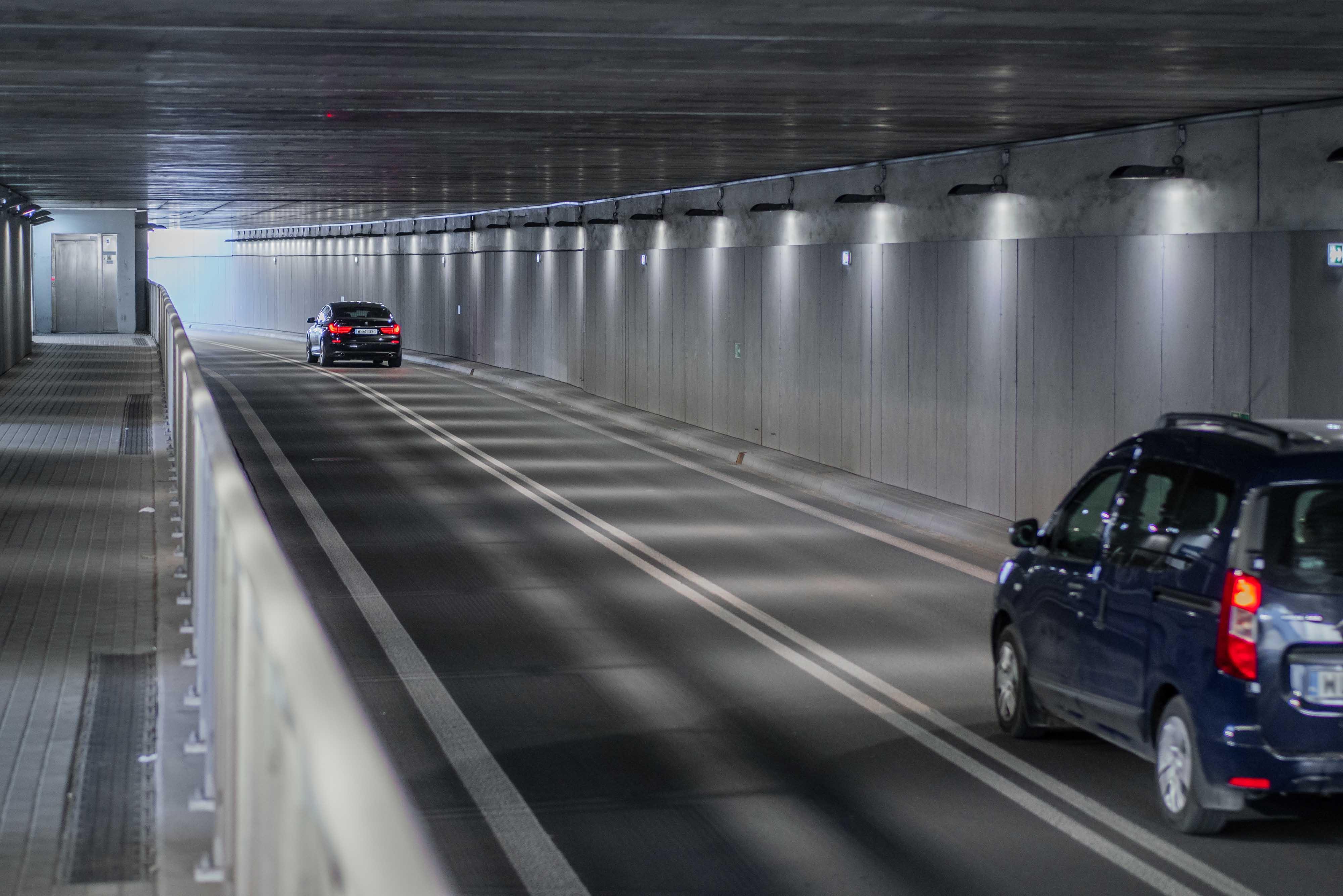 Oświetlenie tunelowe i zewnętrzne na przedłużeniu ulicy Kilińskiego w Siedlcach